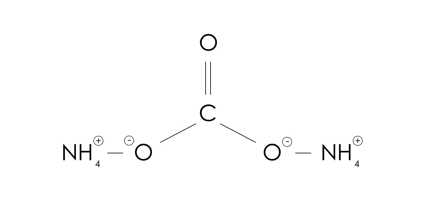 AMMONIUM CARBONATE LUMP